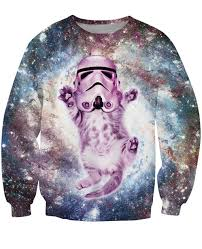 sweater wars cat stormtrooper wars sweater
