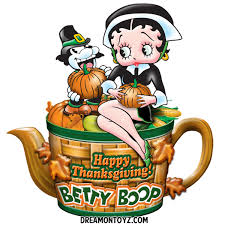 happy thanksgiving betty boop graphics betty boop pictures