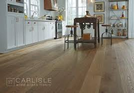 white kitchen cabinets wood floors the best wood flooring for kitchens new home magazine