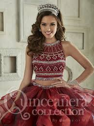 burgundy quince dresses aliexpress buy blue burgundy two pieces quinceanera dresses