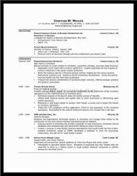 Excellent Good Resumes Examples by Sample Of A Good Resume Exol Gbabogados Co