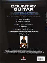 alan warner country guitar book and cd gtr book cd amazon co uk