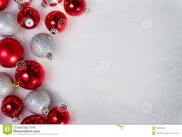 many ornaments in the snow stock image image 23619039