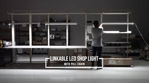 linkable led shop lights linkable led shop light youtube