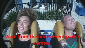 Sandusky Ohio Six Flags Sling Shot Ride A Cedar Point Amusement Park Sandusky Ohio Youtube