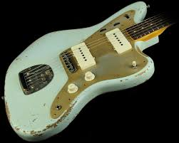 Shabby Chic Guitars by Fender Custom Shop Heavy Relic Jazzmaster Electric Guitar Faded