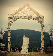 wedding arbor etsy rustic wedding arch arbor log wood tree slice cabin decor