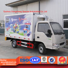 jac cooling van truck with thermo king refrigeration units