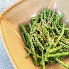 erin u0027s food files green bean salad with asian style dressing