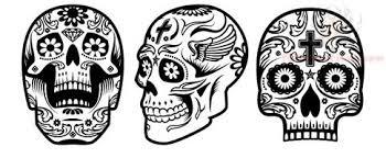 awesome sugar skull designs