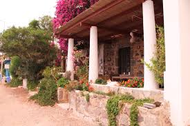 beautiful house on the beach in gumusluk turkey pic from