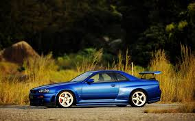 nissan skyline r34 wallpaper sunset cars nissan skyline blue cars skyline r34 midnight blue