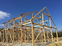 Timber Dormer Construction 36x50 Gable Barn Plans