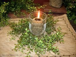 pepper grass wreath