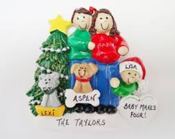 personalized ornament expecting