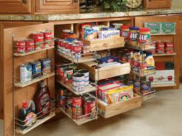 Open Shelves Under Cabinets Simple Small Kitchen Pantry Shelving Design With Open Shelves