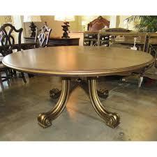 century consulate hortense round dining table floor sample on