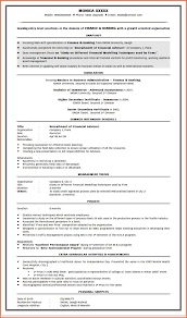 Resume Format Examples For Freshers by Mba Resumes For Freshers Finance Free Resume Example And Writing