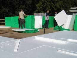 insulation types and prices for a flat roof