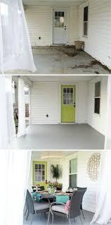 Outdoor Concrete Patio Paint 14 Amazing Painted Floors Concrete Patios Concrete And Patios