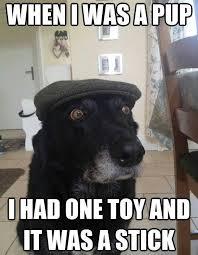 Hipster Dog Meme - grandpa dog weknowmemes