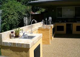 Outdoor Kitchen Countertops Ideas Concrete Outdoor Kitchen Countertops Outdoor Kitchen