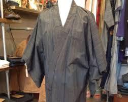robe de chambre japonaise homme pyjamas peignoirs et robes de chambre pour hommes vintage etsy fr