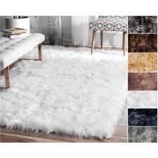 Fur Runner Rug Faux Sheepskin 2 X 6 Runner Rugs For Less Overstock