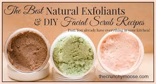 5 Natural Diy Recipes For by The Best Natural Exfoliants And Diy Scrub Recipes