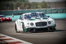 bentley modified 2014 bentley continental gt3 first look motor trend