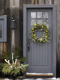 colors for front doors great wreath very earthy and natural myinterflorachristmas