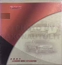2001 astro u0026 safari repair shop manual 2 volume set original