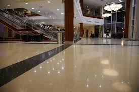 first impressions lobby areas with terrazzo flooring