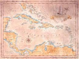 Map Of The Carribean Large Map Of The Historical Caribbean