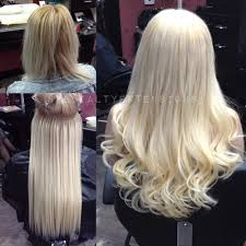 keratin hair extensions before after color correction and keratin individual hair