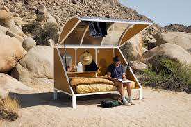 Sleeping Pods by Andrea Zittel U0027s Wagon Stations Are Temporary Pods For Travellers
