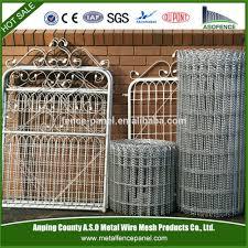 decorative wire fencing iron