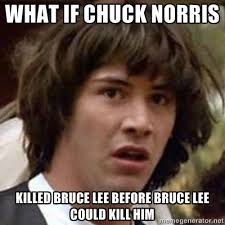 Bruce Lee Meme - chuck norris is a fucking douchebag rebrn com