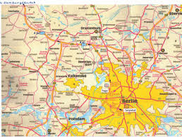 Map Of Berlin Germany by Berlin Tourist Map Berlin U2022 Mappery