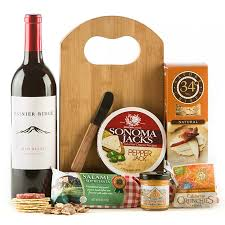gourmet wine gift baskets ten best wine gift baskets wine with cheese chocolate other snacks