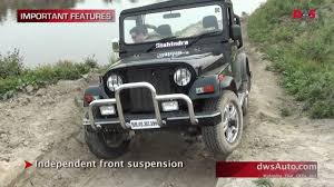 jonga jeep mahindra thar road test and video review mahindra thar 4x4 for a