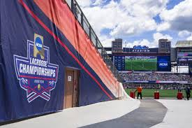 event highlight ncaa lacrosse national championships event ncaa lacrosse mesh banners chute banners