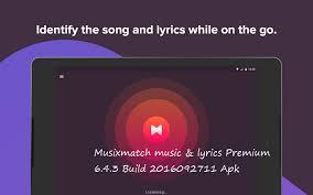 musicxmatch apk musixmatch lyrics premium 6 4 3 build 2016092711 apk