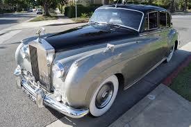 bentley silver cloud 1961 bentley s2 sedan black leather stock 6cu for sale near
