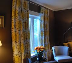 Citrine Curtains Drapes By Tonic Living In Medallion Band In Citrine Curtains