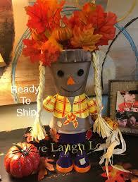 scarecrow harvest decor fall decor halloween scarecrow