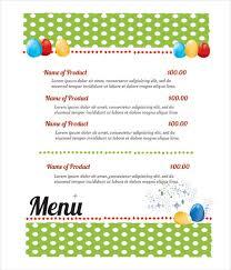 9 easter menu templates printable jpg psd eps format download