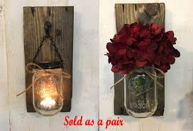 Candles Home Decor Candle Holders Rustic Candle Holders Candles Mason Jar Candles