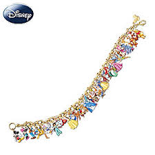 ultimate disney classic charm bracelet featuring 37 disney characters