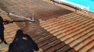 Cement Tile Roof Cement Tile Washing Exterior Coat Painting Roof Restoration